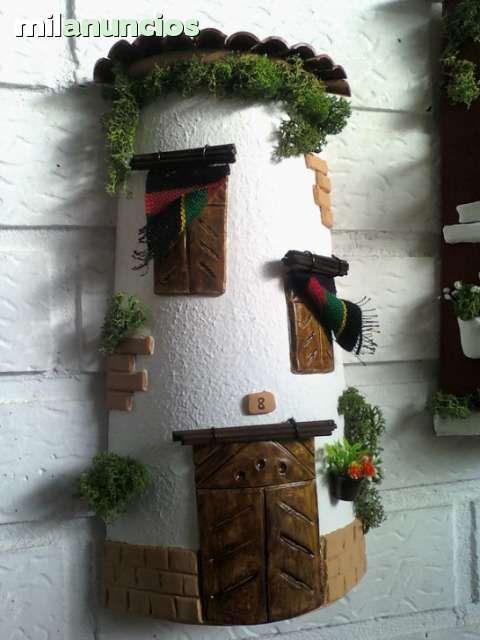 M s de 1000 ideas sobre fachadas de casas bonitas en - Tejas pequenas decoradas ...