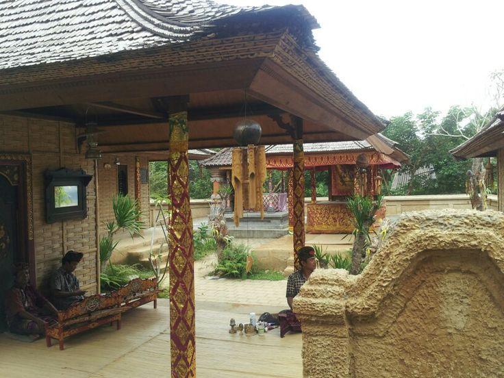 Traditional  bali house