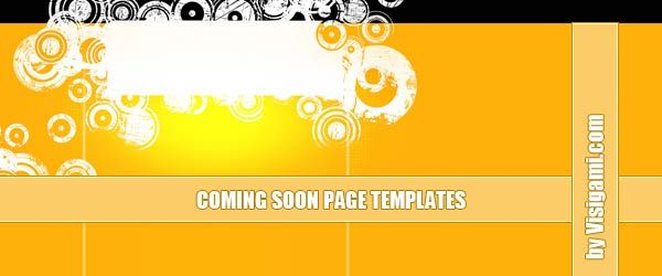 26 Very Creative Coming Soon Page Templates for your Website ‹ ‹