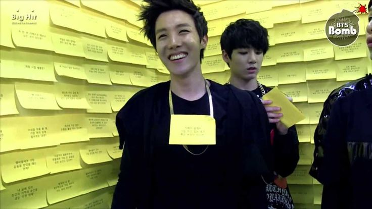 [BANGTAN BOMB] Q&A Time in yellow post-it Room - YouTube