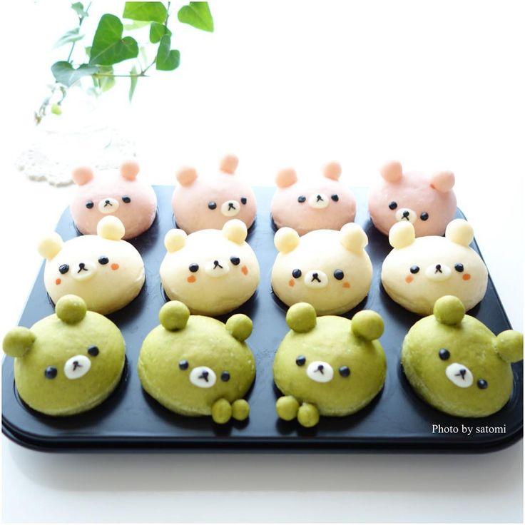 Little bread bears by satomi (@satomi_0819)