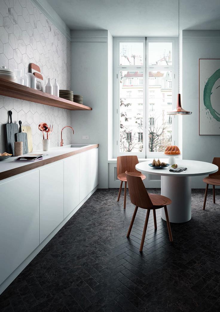 Charmant #Marazzi | #Allmarble | #porcelain | #tiles | #kitchen | #