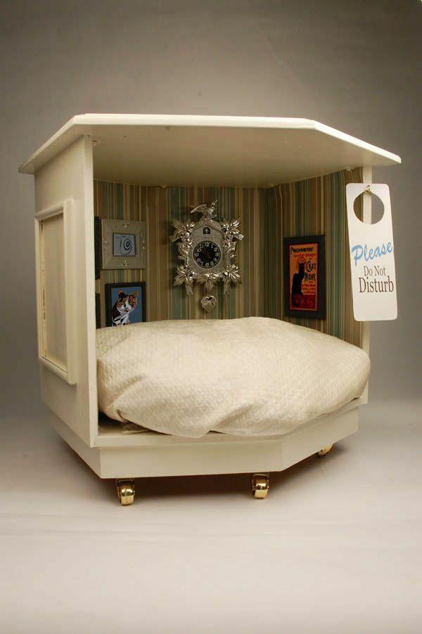 improvisiertes zimmer Holz sofas haustiere überdachung