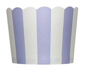 Bakekopper Striper Lavendel