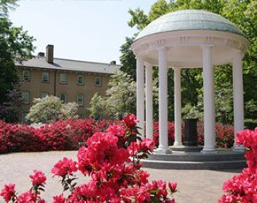 Chapel Hill, NC - A great college town with one of the prettiest campuses I have seen (I may be a bit biased).