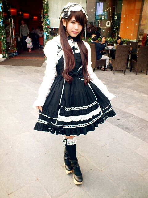 Image result for old school lolita