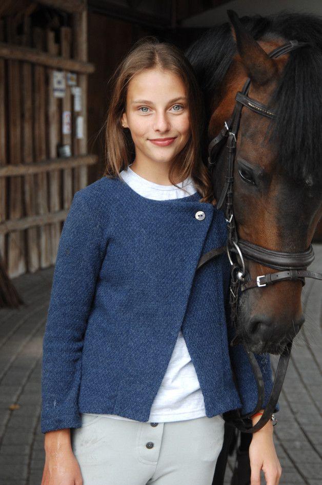 PETRA sweter elegancki zapinany na guzik - aQademia - Sweterki dla dzieci