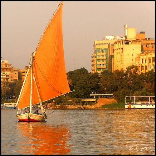 Rio Nilo. El Cairo