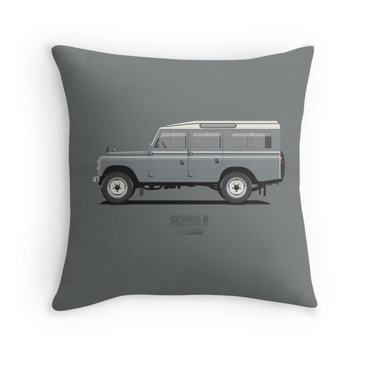 Series 3 Station Wagon 109 Mid Grey  #landrover #grey #series3 #redbubble #vector #carart #vintage #classic #lwb # long #landrover109 #landroverseries #car #ARVwerks