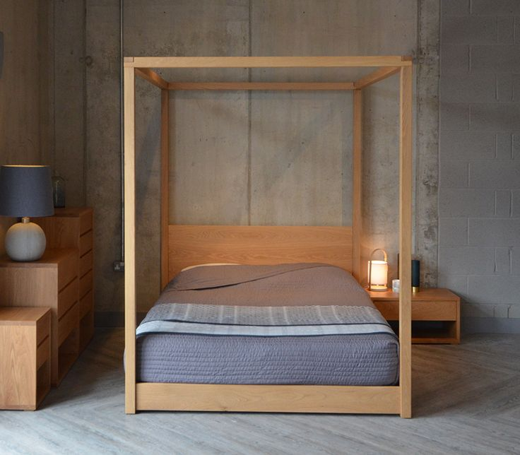 127 best Solid Wood Beds images on Pinterest   Colonial, Bathroom and  Bedroom furniture