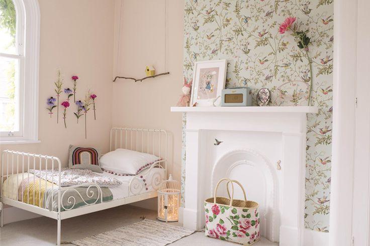 Rosa's Whimsical Girlsroom on Kids Interiors #prettygirlsroom #kidsroom #girlsroominspo #kidsinteriors