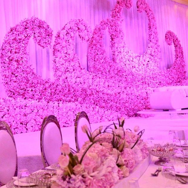 229 best images on pinterest wedding decor decorations love the organic shape flower backdrop flower qatar arab weddingflower backdropstage decorationspink junglespirit Choice Image