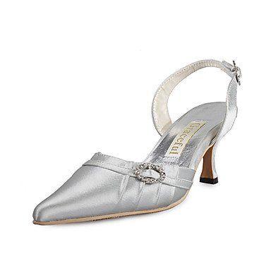 Dew Top-Qualität Satin oberen Mittelklasse Fersen Slingback mit Strass Hochzeit Schuhe / Brautschuhe (0984-r-037) - http://on-line-kaufen.de/dew-hohe-fersen/dew-top-qualitaet-satin-oberen-mittelklasse-mit-r