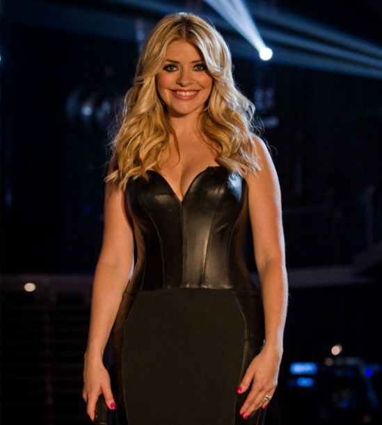 Holly Willoughby's hair looked fabulous at The Voice final ♥
