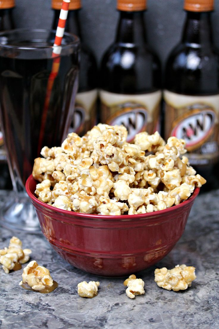 Root Beer Popcorn from cravingsofalunatic.com- This recipe is super easy to make and perfect for entertaining during the holidays, or any time of the year. This a family favourite for movie night. (@CravingsLunatic) #sponsored