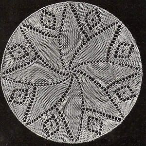 Small Doily B - http://www.yarnover.net/patterns/doilies/dillmont/b66dillmont1.html