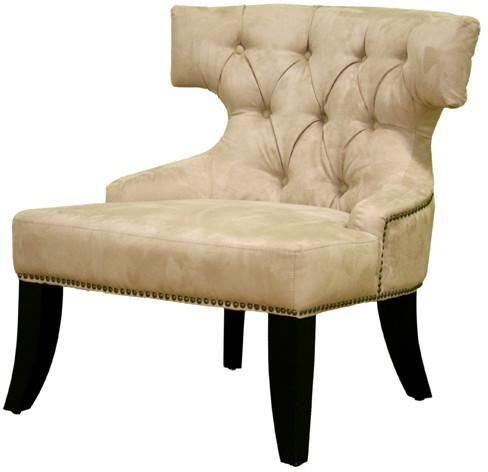 Wholesale Interiors A-172-BH-10 Taft MicroFiber Club Chair in Beige - Each