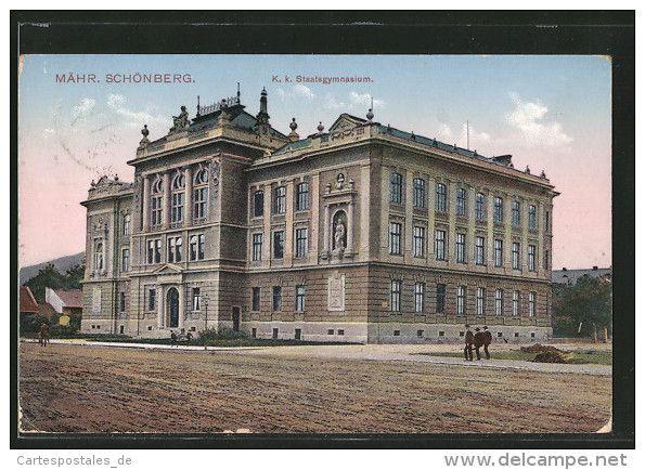CPA Mähr. Schönberg, K.k. Staatsgymnasium - Tchéquie