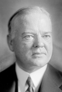 "US President Herbert Hoover | ""31st president of the United States, whose greatest accomplishment was somehow not committing suicide during the Great Depression."""