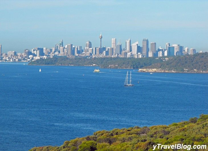 View of Sydney from North Head in Manly ...