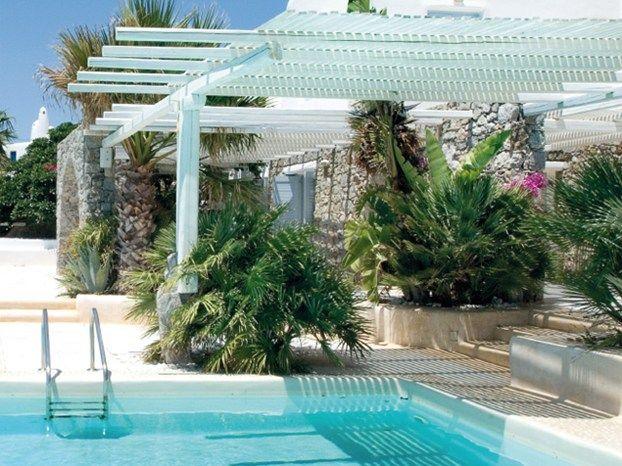 Esterni e piscina