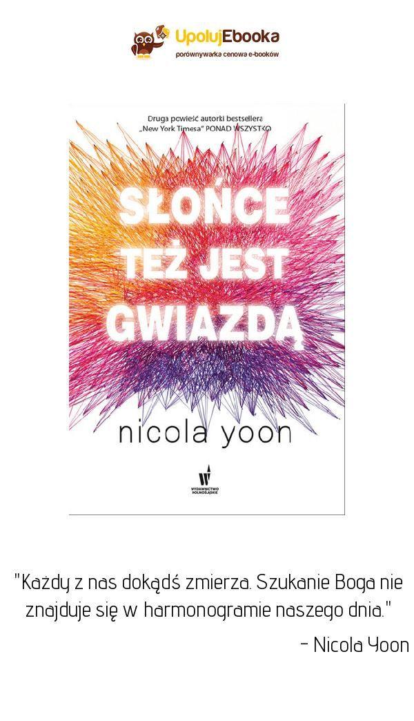 Slonce Tez Jest Gwiazda Ksiazka Yoona Audiobooki