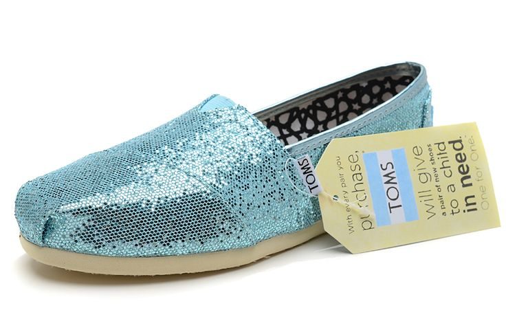 Blue Women's Glitters [Toms091] - $17.00 : Toms Shoes Outlet,Cheap Toms Shoes Outlet Save Up To 80% Off