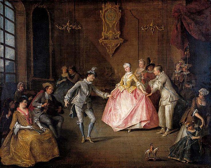 nicolas lancret 1690 1743 avant le bal masqu before the masked ball nantes mus e des. Black Bedroom Furniture Sets. Home Design Ideas