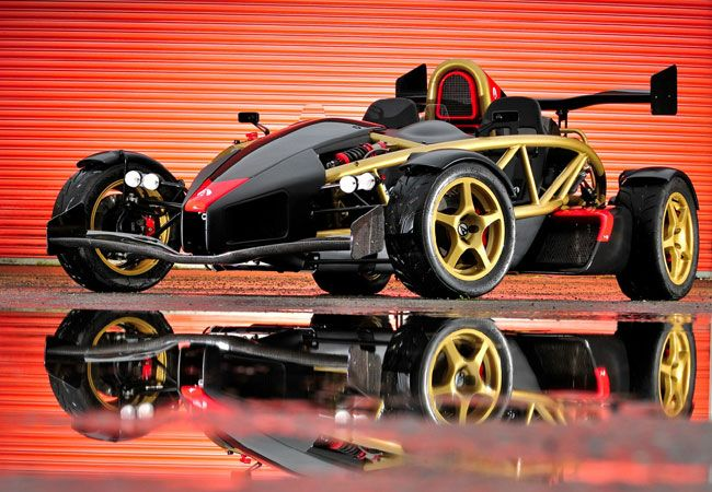 2012 Ariel Atom 500 V8 - Experts who should know have said that it's the fastest, most maneuverable car on earth.