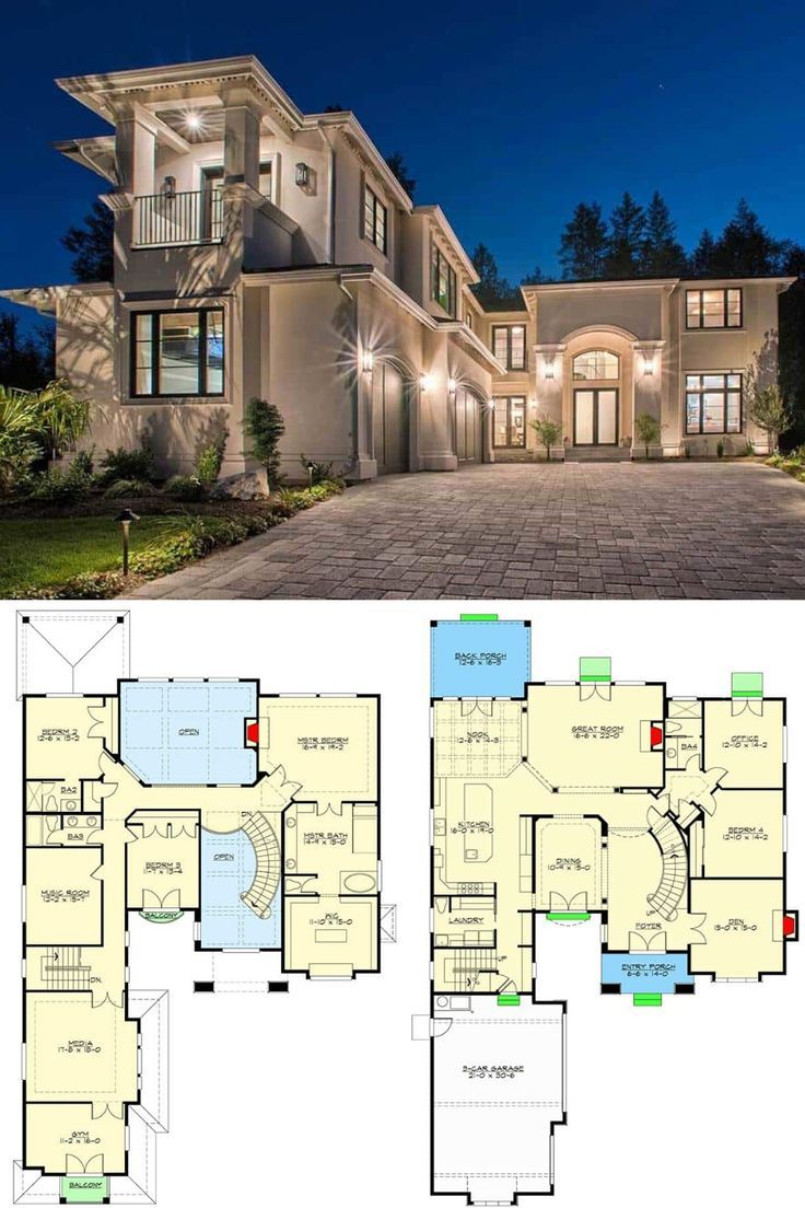 4 Bedroom 2 Story Italianate Home In 2020 Luxury House Floor Plans Mansion Floor Plan House Plans Mansion