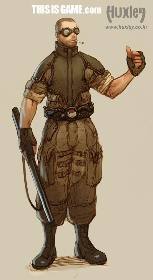 헉슬리, 종족+무기+아트웍 대량공개 - 게임스크린샷 - 디스이즈게임