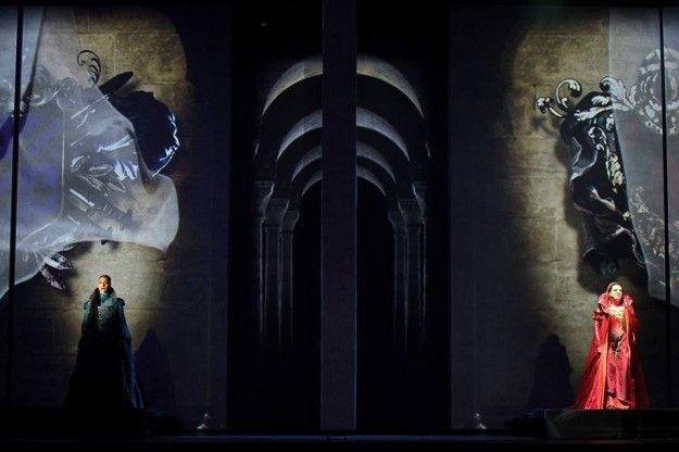 Una scena di Romeo e Giulietta
