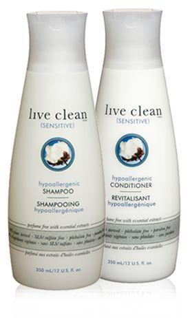hypoallergenic shampoo & conditioner