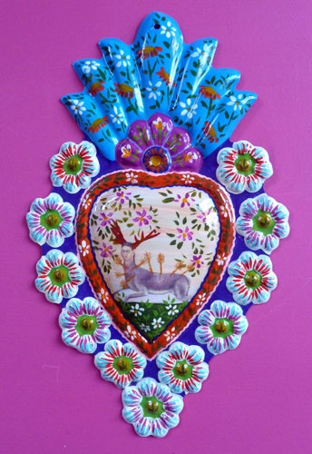 Frida Kahlo Milagro ~ Mexican folk art