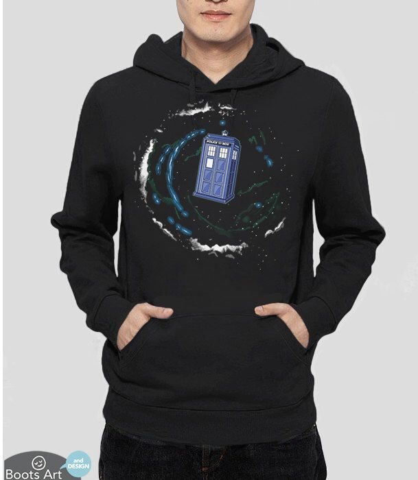Doctor Who Clothing | Geek Clothing | Geek Hoodie | Space and Time and the Universe | Geek Fall Fashion Sweatshirt | Geek Gift Idea by BootsArt on Etsy https://www.etsy.com/listing/163475607/doctor-who-clothing-geek-clothing-geek