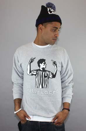 The FL Ref Crewneck Sweatshirt (Heather Gray) by Fully Laced