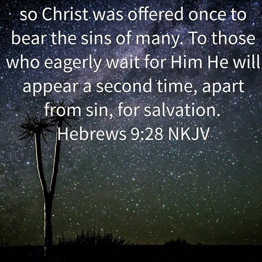 Christ's Return Is For Our Salvation