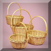 A  Willow Basket Set
