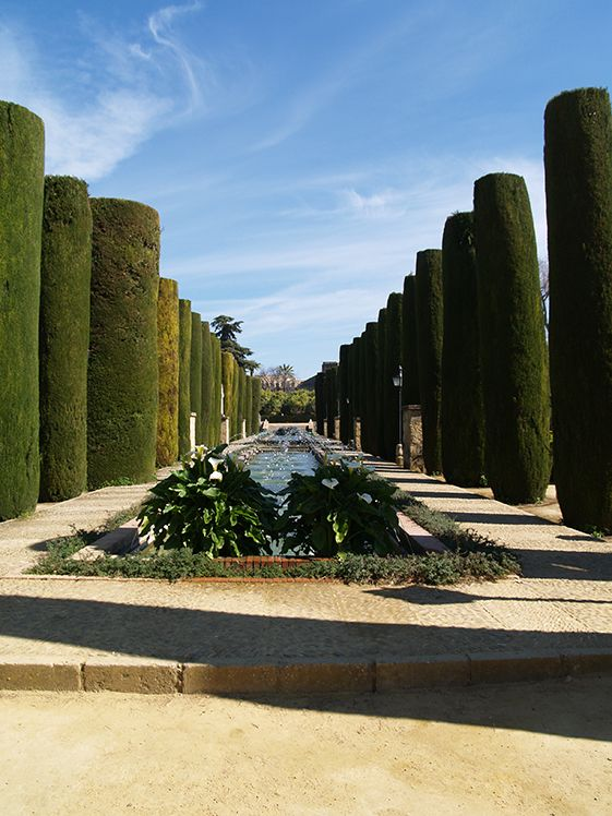Jardines del Alcázar de los Reyes Cristianos de Córdoba