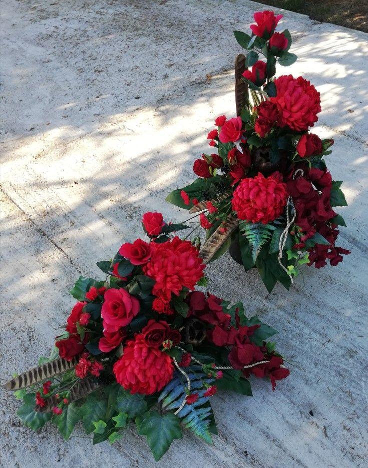 Kompozycje Cnentarz Tropical Floral Arrangements Beautiful Flower Arrangements Funeral Flowers