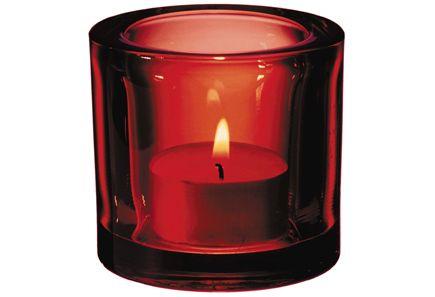 Iittala - Iittala Kivi 60 mm punainen