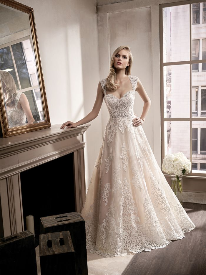@Bellethemagazine wedding dresses | Jasmine Bridal Couture Spring 2017 | Floor Ivory A-Line Sweetheart $$ ($1,001-2,000)