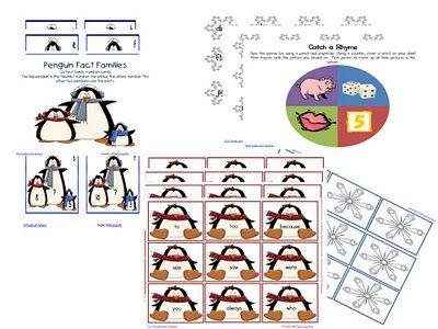 Penguin Workstations on Teachers Pay Teachers: Teachers Pay, Teacher Pay Teachers, Quick Giveaway, School Stuff, Penguin Workstations, Literacy Activities, Winter Classroom, Classroom Ideas, First Grade