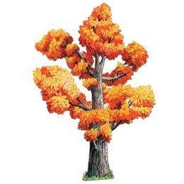 Decoratie Eikenboom groot herfst -  Een prachtige grote decoratie van een eikenboom. Aan beide zijden bedrukt! Lengte: 120cm. | www.feestartikelen.nl