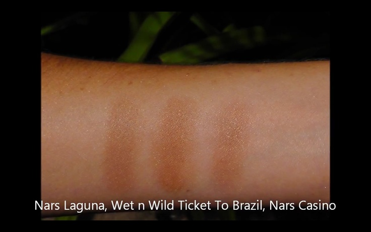 NARS Laguna - Wet n Wild Ticket to Brazil - NARS Casino
