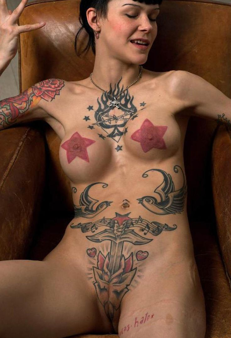 women with tattoos on their pussies