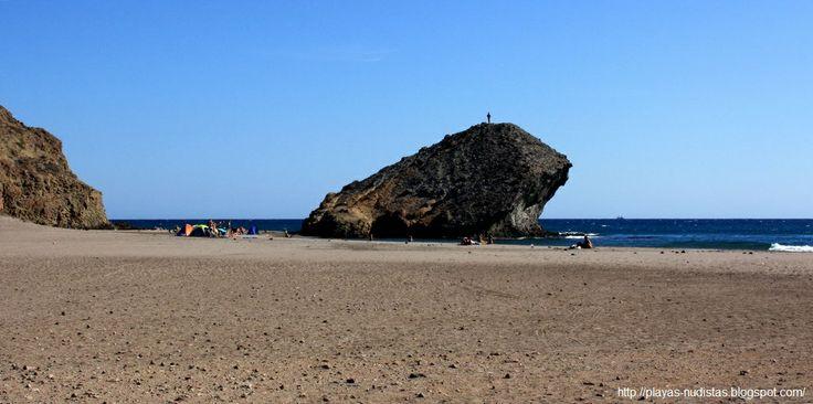 Monsul Beach Cabo De Gata, Almeria, Spain  Nude Beaches -7413
