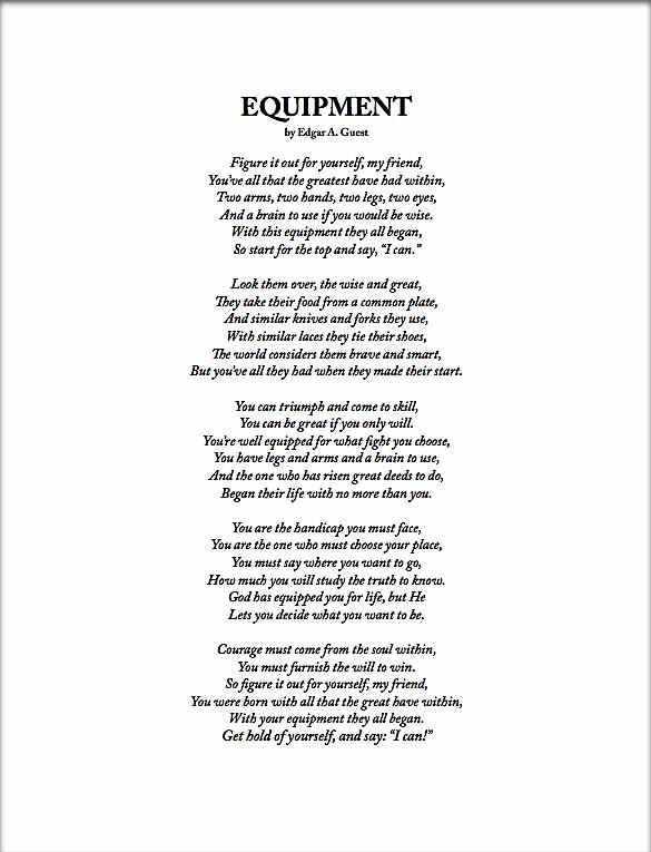See It Through Poem by Edgar Albert Guest - Poem Hunter ...   Edgar Guest Poem