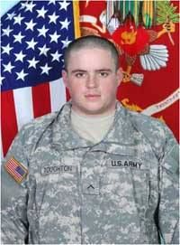 Honoring Army Spc. Andrew J. Roughton who selflessly sacrificed his life on 7/20/2009 in Afghanistan for our great Country. Please help me honor him so that he is not forgotten.