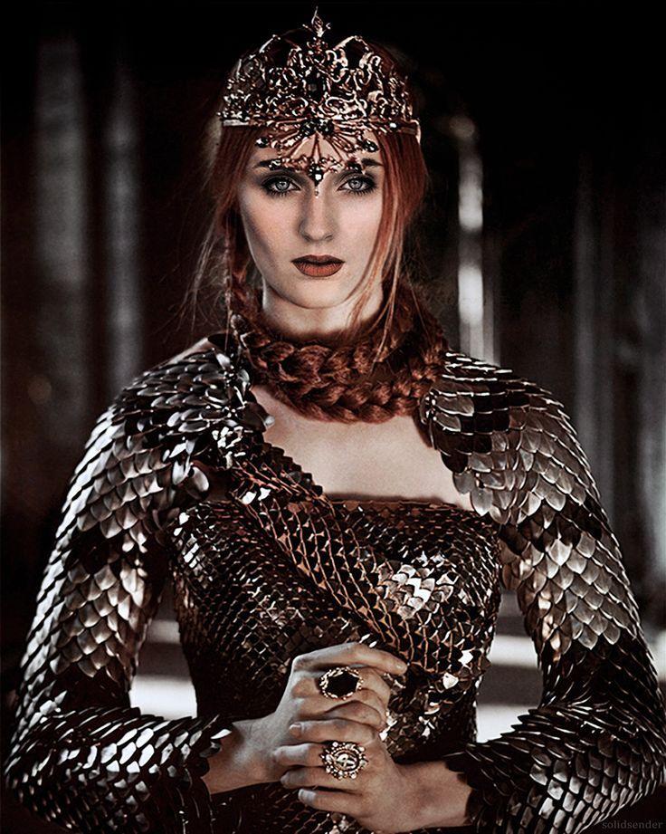 The wolves will come again...Sansa Stark..